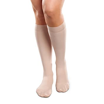 a369f2ec00a Ease Opaque Women s Knee High Support Stockings - Mild (15-20mmHg)  Graduated Compression