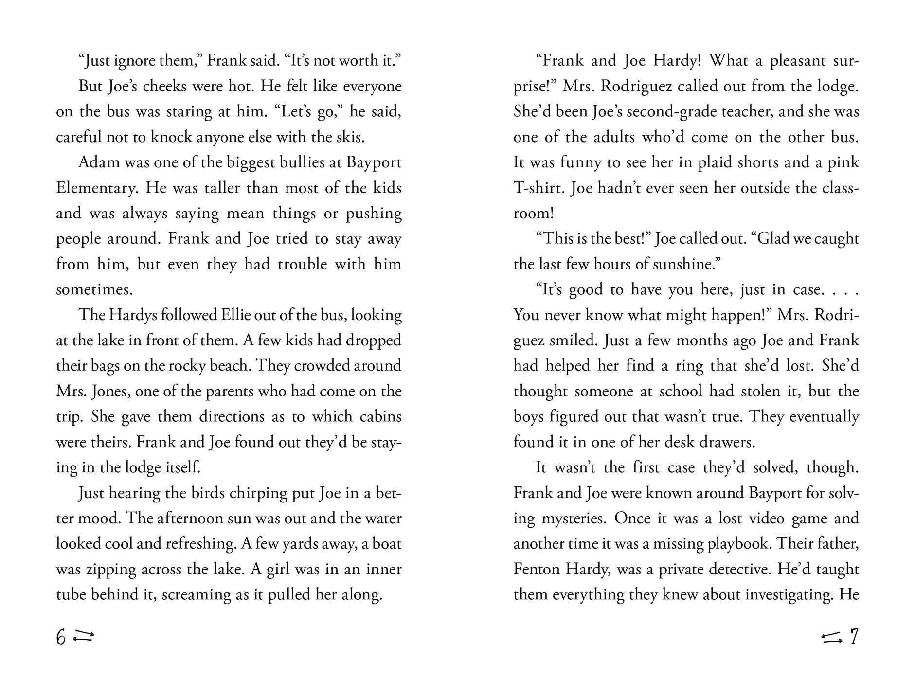 Amazon: Waterski Wipeout (hardy Boys Clue Book) (9781481450553):  Franklin W Dixon, Matt David: Books