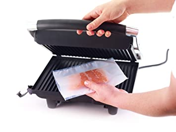 Set of Three Re-Usable Non-Stick Grill Bags by Kitchen Craft