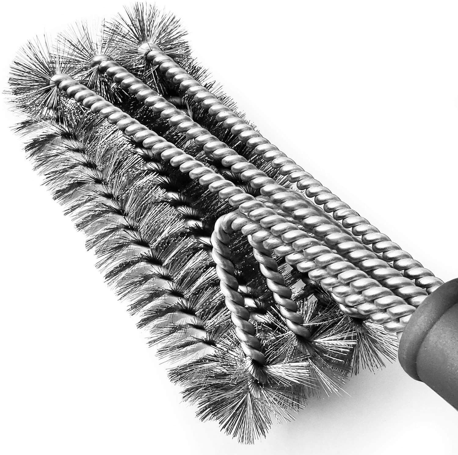 Grill Brush BBQ Cleaning Brush Stainless Steel  Kitchen Wire Brush Y