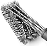 BBQ Grill Brush Stainless Steel 18