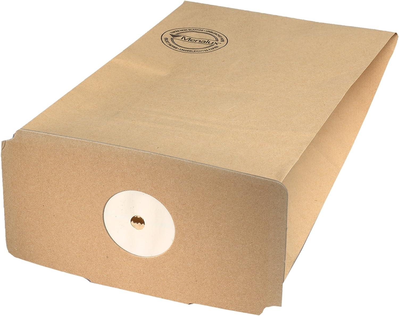 Bolsas de papel para aspiradoras Tornado 5 unidades Menalux 1207 P