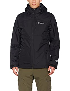 Columbia Aravis Explorer Interchange Jacket Chaqueta Impermeable, Nailon, Hombre