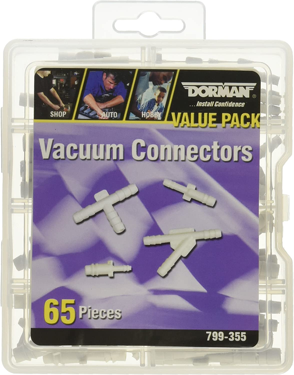 Dorman 799-355 Vacuum Connector Value Pack