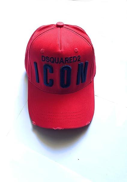 Philipp Plein - Gorra de béisbol - para hombre Rojo rojo Talla única: Amazon.es: Ropa y accesorios