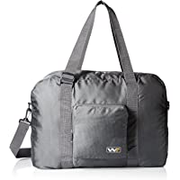 4ece6d7e8d47 Wandf Foldable Travel Duffel Bag Luggage Sports Gym Water Resistant Nylon