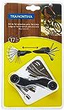 Tramontina - Kit Ferramentas para Bicicleta 17 Pecas,Produzida com Material Especial