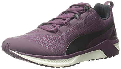 PUMA Womens Ignite XT Graphic Running Shoe Italian Plum