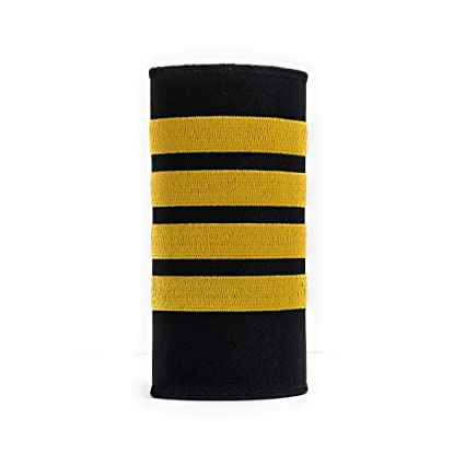 0bbc18496764 Captain Luggage Handle Wrap with 4 Gold Stripes | aviamart