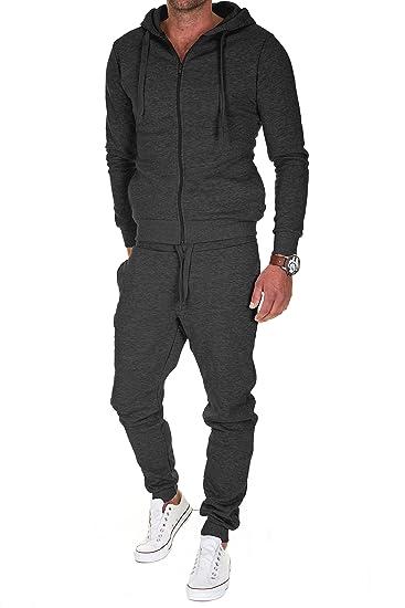 1c578f876c4fd Merish - Survêtement - Homme - Gris - S: Amazon.fr: Vêtements et accessoires