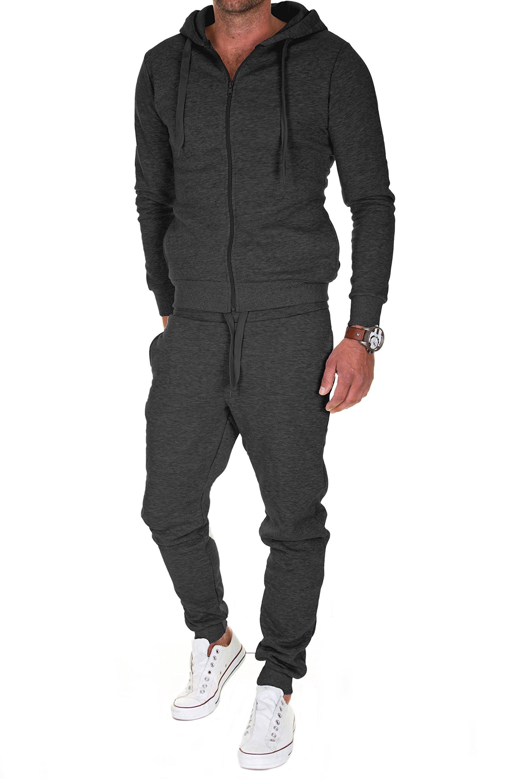 9957a87d60a6b Merish Homme Sweat à Capuche Hoddie Modern Manche Longue avec Zippé Slim Fit  08 product image