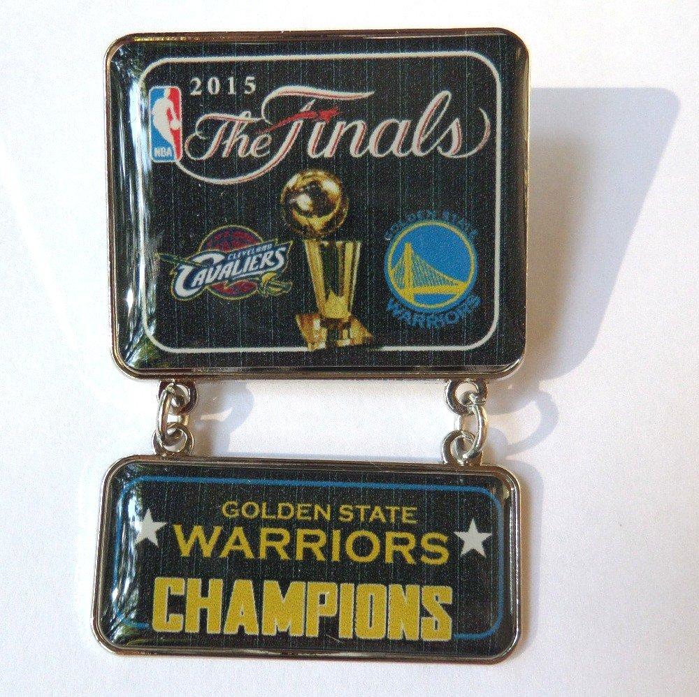 2015 NBA Champs Dangle Pin - Golden State Warriors