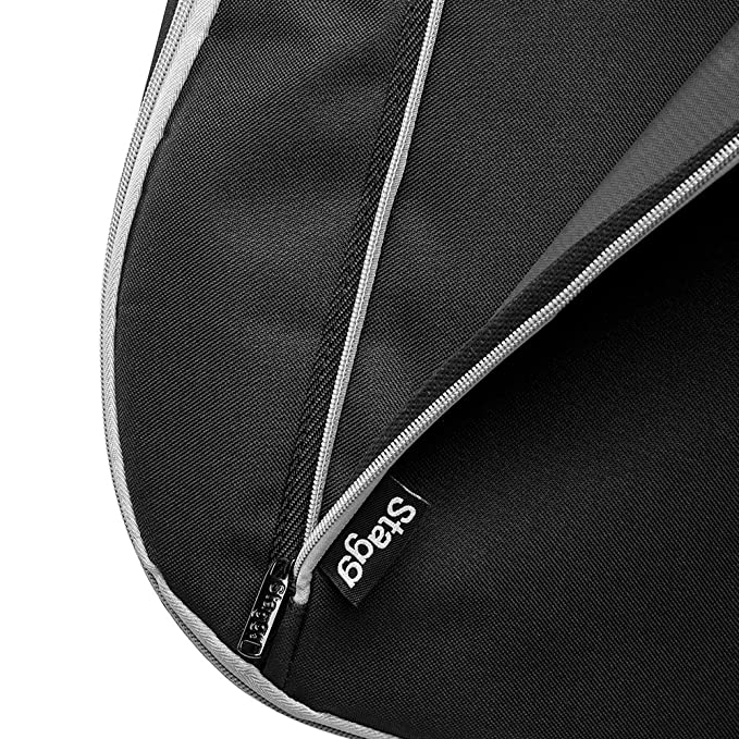 Amazon.com: Stagg 3/4 Size 10mm Padded Electric Guitar Gig Bag ...