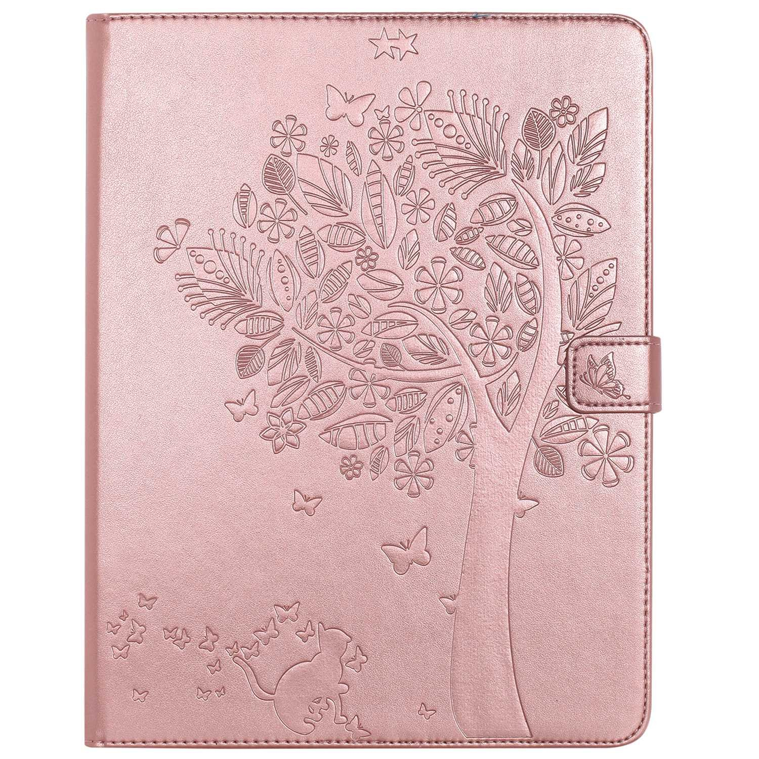 Bear Village iPad 2nd / 3rd / 4th Generation 9.7 Inch Case, Leather Magnetic Case, Fullbody Protective Cover with Stand Function for Apple iPad 2nd / 3rd / 4th Generation 9.7 Inch, Rose Gold by Bear Village