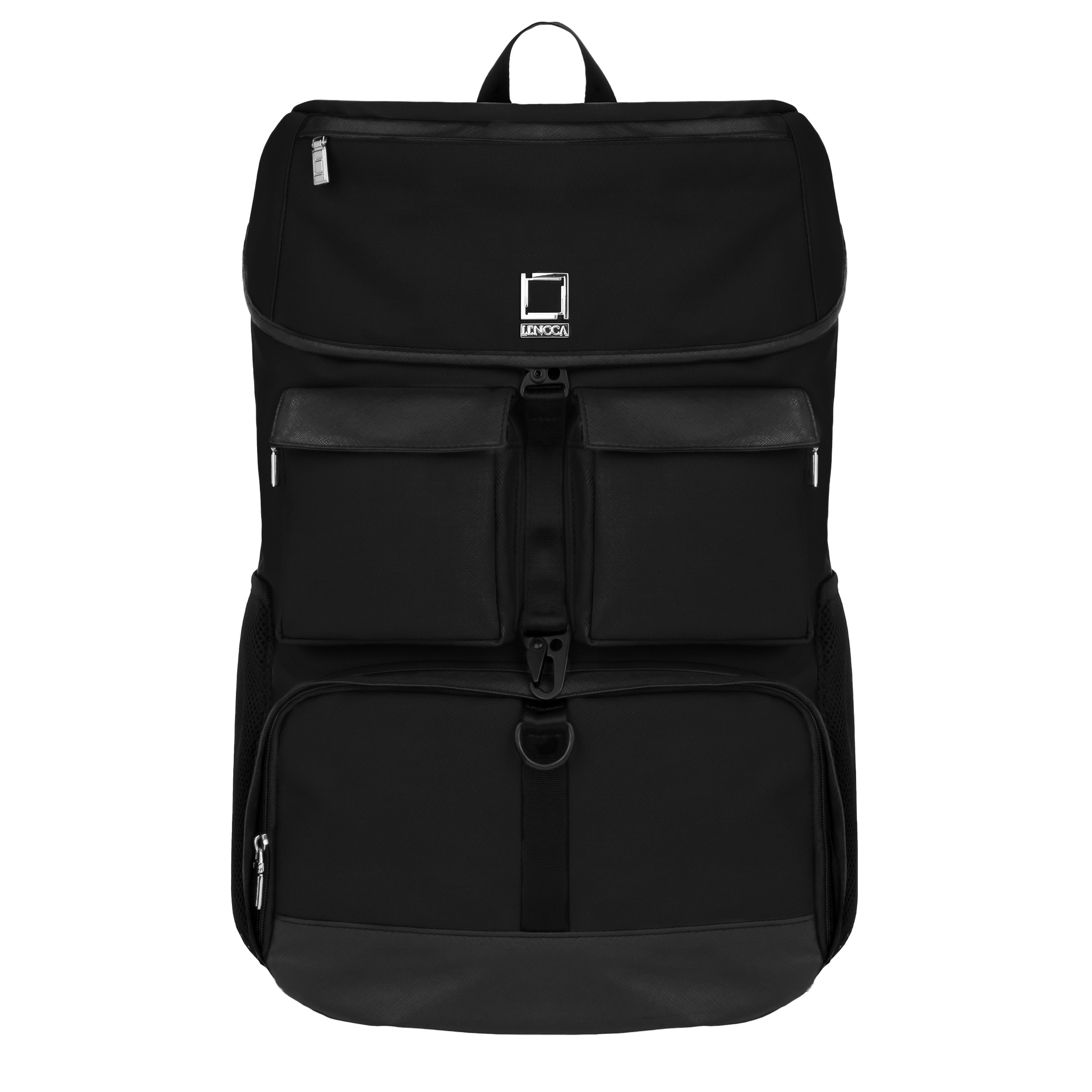 Lencca Logan Backpack for Samsung Galaxy View 18.4 inch Tablets (Classic Black)