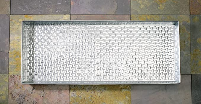 Popular Amazon.com : Extra Weave USA Basketweave Pattern Metal Boot Tray  WC98