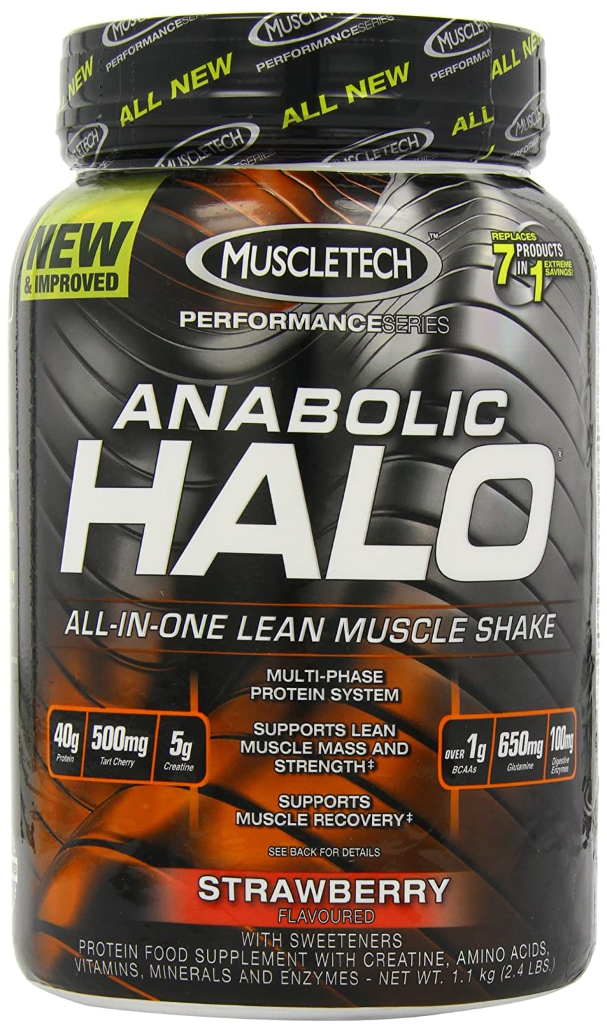 MuscleTech 1.1kg Anabolic Halo Performance Series