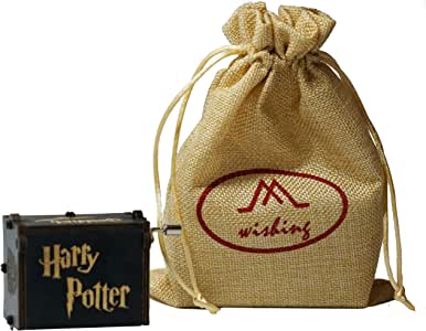 wishing Caja Musical Harry Potter,Tema de Hedwig clásico Caja de música Mano Caja de música de Madera artesanía de Madera Creativa Mejores Regalos con Bolsa de Regalo: Amazon.es: Hogar