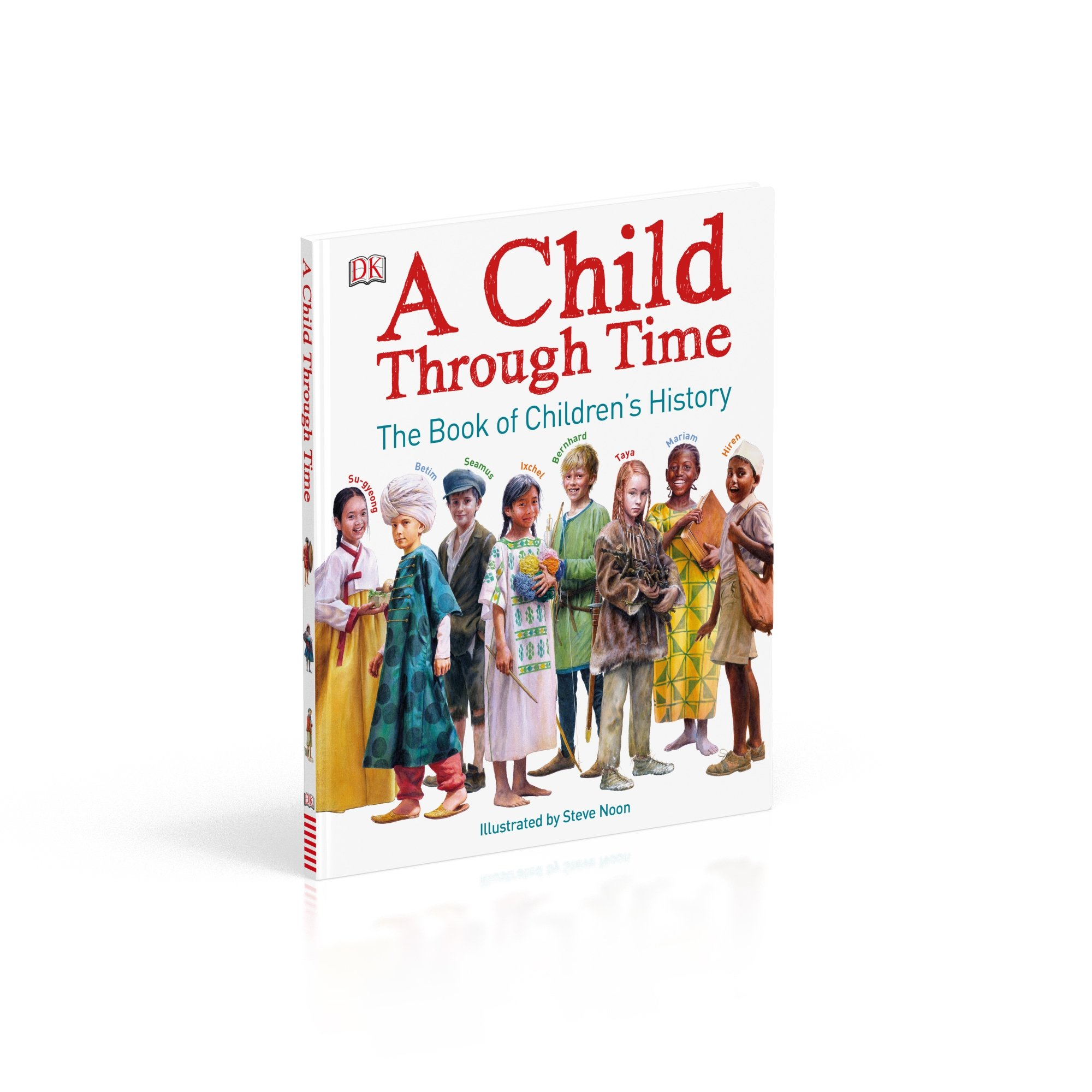 A Child Through Time: The Book of Children's History by DK Children (Image #6)