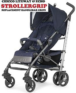 Amazon.com : Choopie Stroller Grip Covers, Zig Zag Black and ...