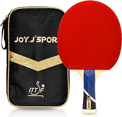 Joy.J Pala de Tenis de Mesa Funda, Raqueta Profesional de pingpong ...
