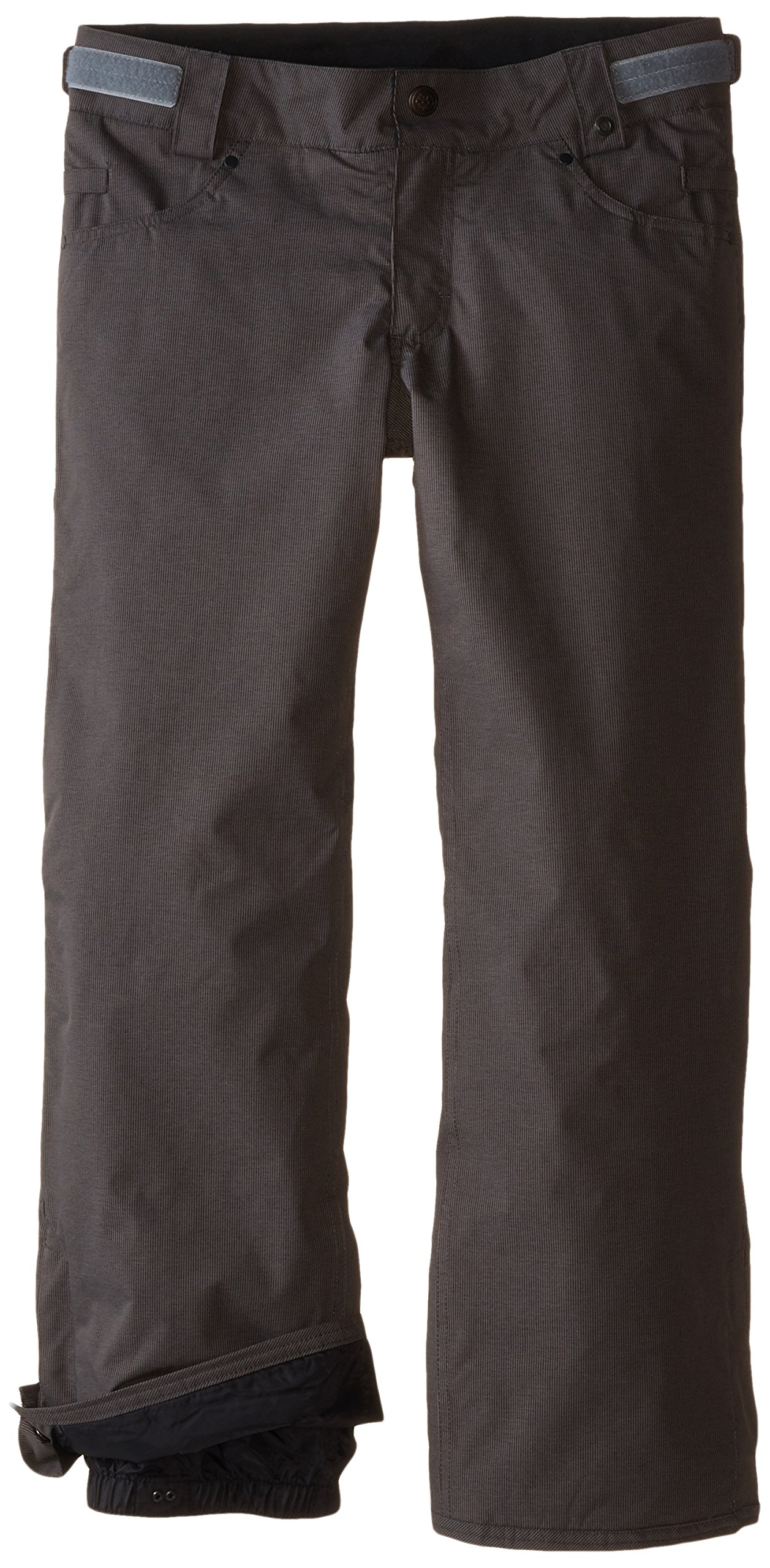 686 Boy's Prospect Insulated Pant, Large, Gunmetal Pincord