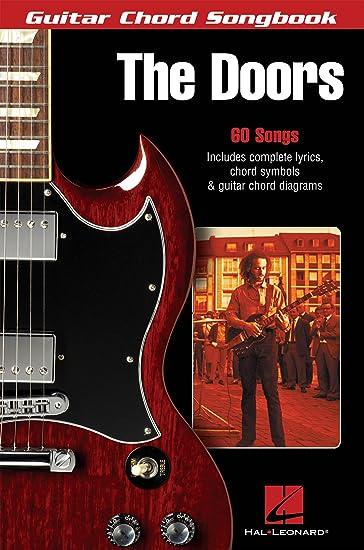 Amazon.com: Hal Leonard The Doors:Guitar Chord Songbook: Musical ...