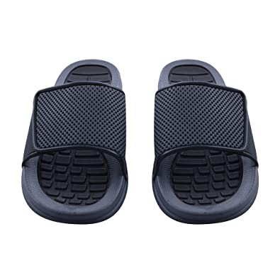 113eb0f66 Amazon.com | Sky Sole Mens Slide Sandals with Adjustable Strap | Sandals