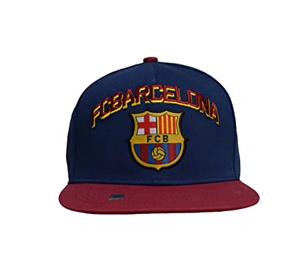f7d8345bac6 Image Unavailable. Image not available for. Color  Fc Barcelona Snapback Adjustable  Cap ...