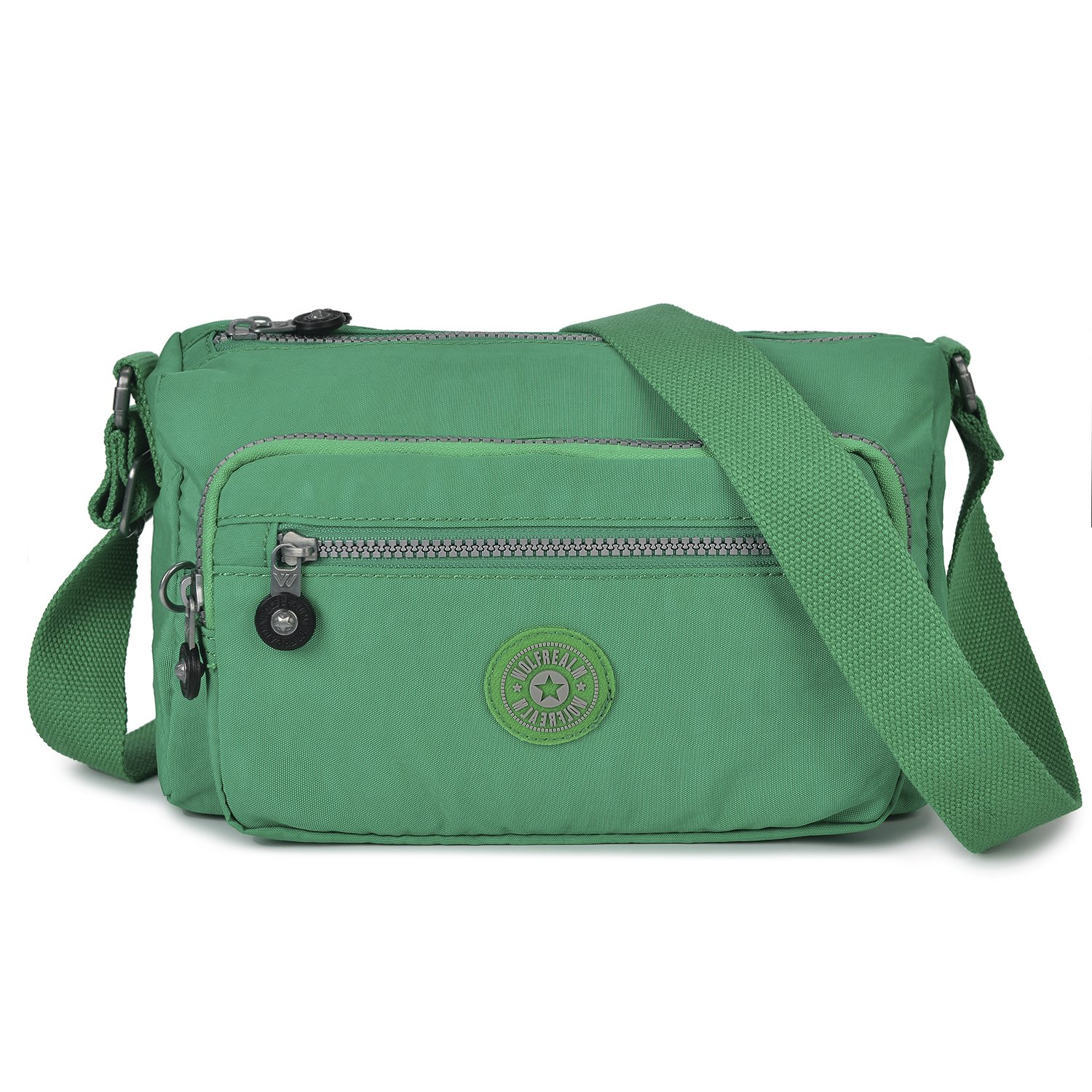 Wolfrealm Crossbody Purses For Women Small Fashion Shoulder Bags (Green)