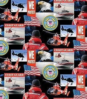 Coast Guard Cotton Fabric