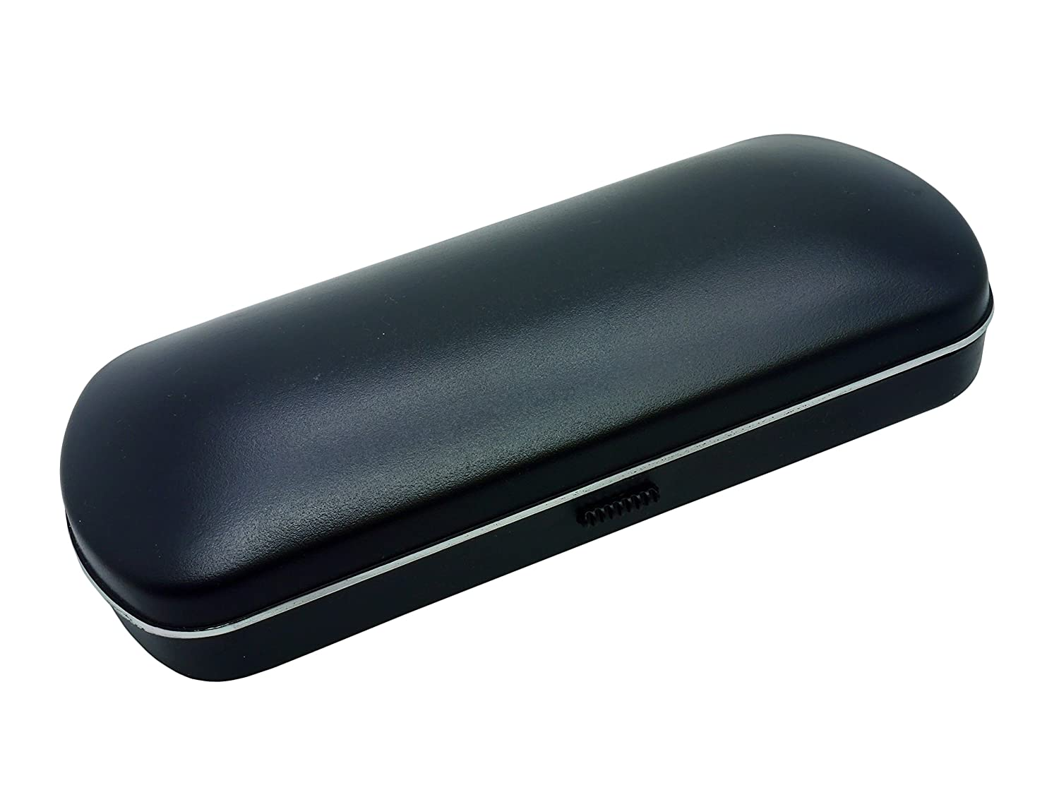 Hard Protective Black Glasses Spectacle Sunglasses Case Easy Push Button Open