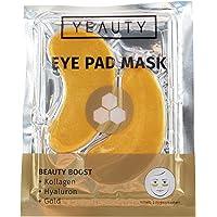 YEAUTY Beauty Boost EYE PAD MASK – fuktgivande ögonkuddar med aktiva ingredienser av kollagen Hyaloron trollbuske och…