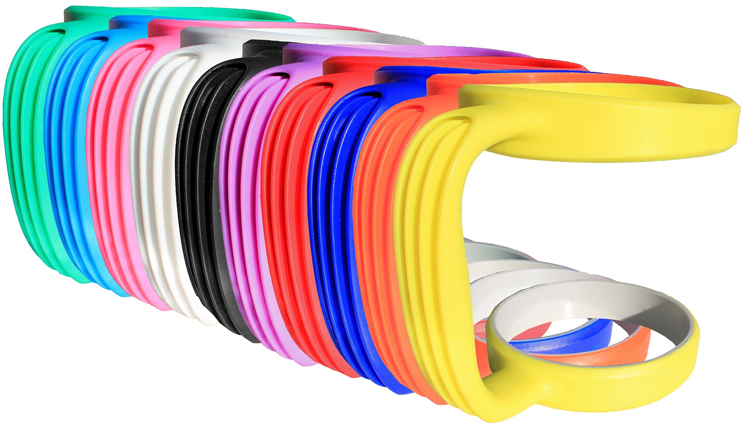Grip-It Yeti Tumbler Cup Handle For 30Oz Rambler - Lightweight Spill Proof Gr.. 10