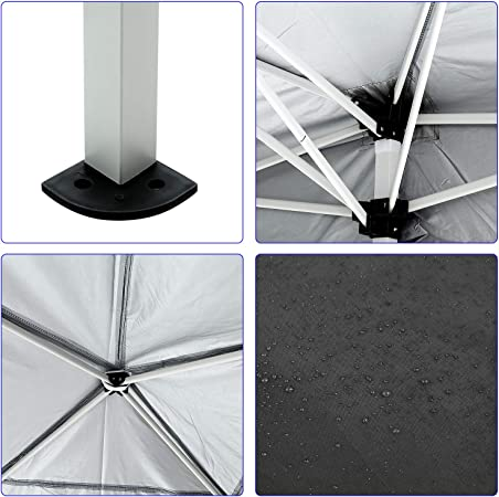 Garden Gazebo Marquee Tent Gazebo Marquee Canopy Foldable