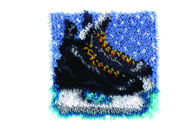 12 X 12 Wonderart Ballet Slippers Latch Hook Kit