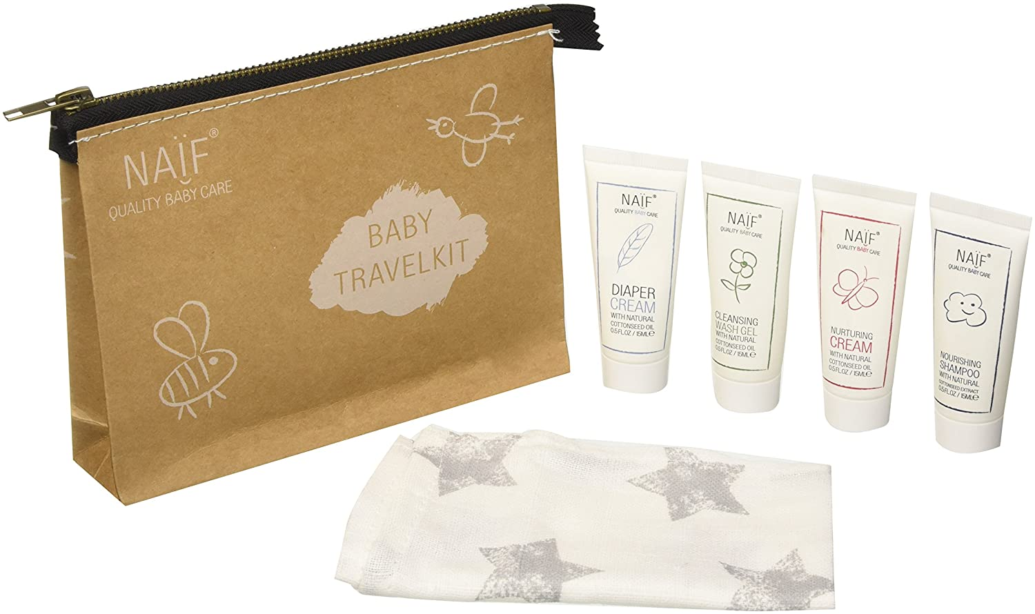 NAÏF Baby Care Travel Kit NAÏF CARE BV GP07