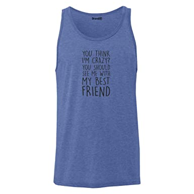 Brand88 - You Should See Me With My Best Friend, Unisex Jersey Weste:  Amazon.de: Bekleidung