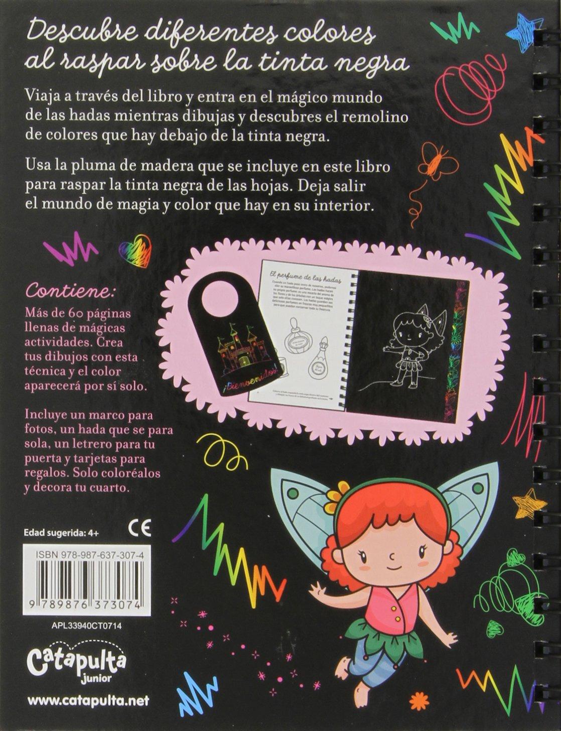 Hadas. Raspa, Descubre Y Dibuja: Amazon.es: Vv.Aa.: Libros