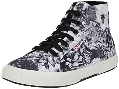 Womens Shoes Superga 2095 Fabricw Annabella Black/White