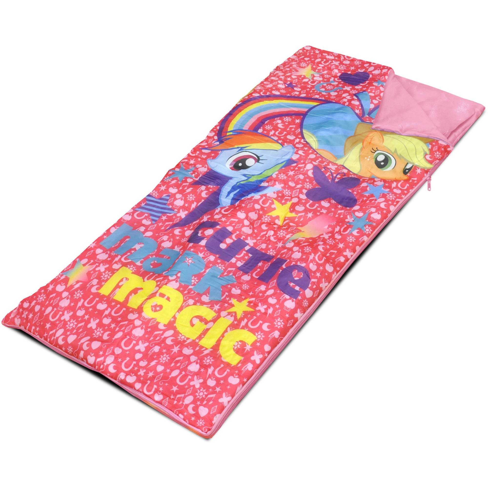 My Little Pony Sleeping Bag with 3D Pillow