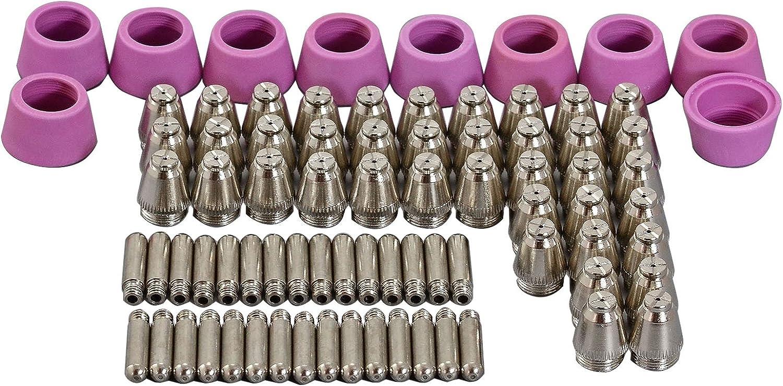 5 Pezzi Plasma Per Ugello 220816 Adatto Per Utensili Da Taglio MAX85 Consumabili 85A Acciaio Inossidabile Ugello Al Plasma Con Buona Durata E Lunga Durata Per Il Taglio Di Acciaio Al Carbonio