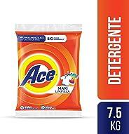 Ace Detergente En Polvo Ace Uno Para Todo 7.5kg, 10 Unidades De 750g, color, 1 count, pack of/paquete de