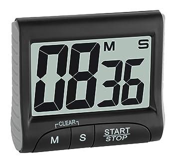 TFA Dostmann 38.2021.01 - Cronómetro y Temporizador Digital ...