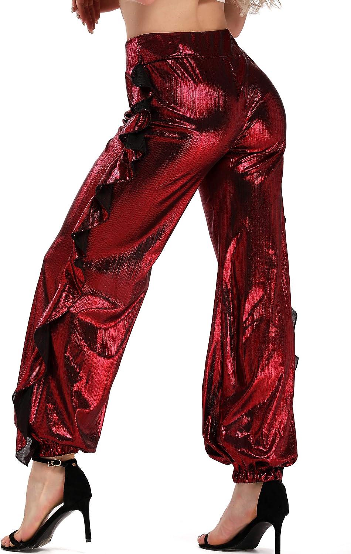 FITTOO Pantaloni Yoga Donna Yoga Pants Larghi Eleganti Sportivo