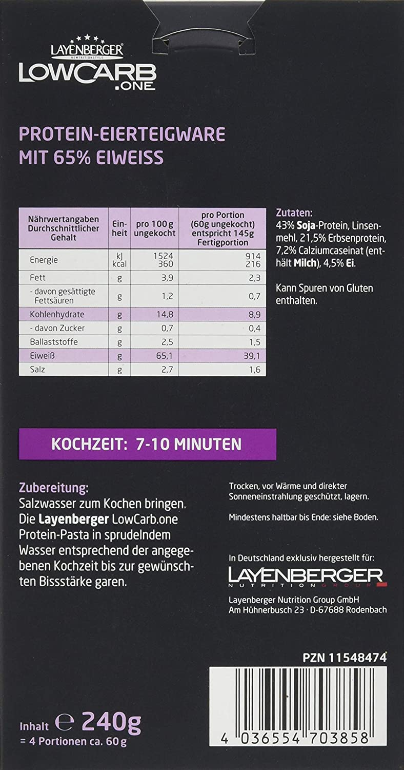 Layenberger LowCarb.one Protein Nudeln