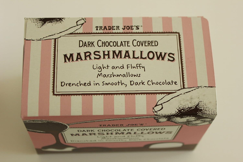Amazon.com : Trader Joe's Dark Chocolate Covered Marshmallows ...