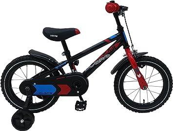 Bicicleta infantil Blaze de 14 pulgadas con ruedas extraíbles ...