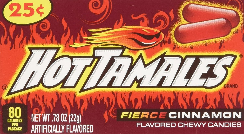hot tamales calories fun size