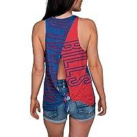 $34 » FOCO Women's Tie Breaker Tank Top Shirt
